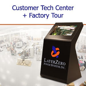LayerZero Customer Tech Center and Factory Tour