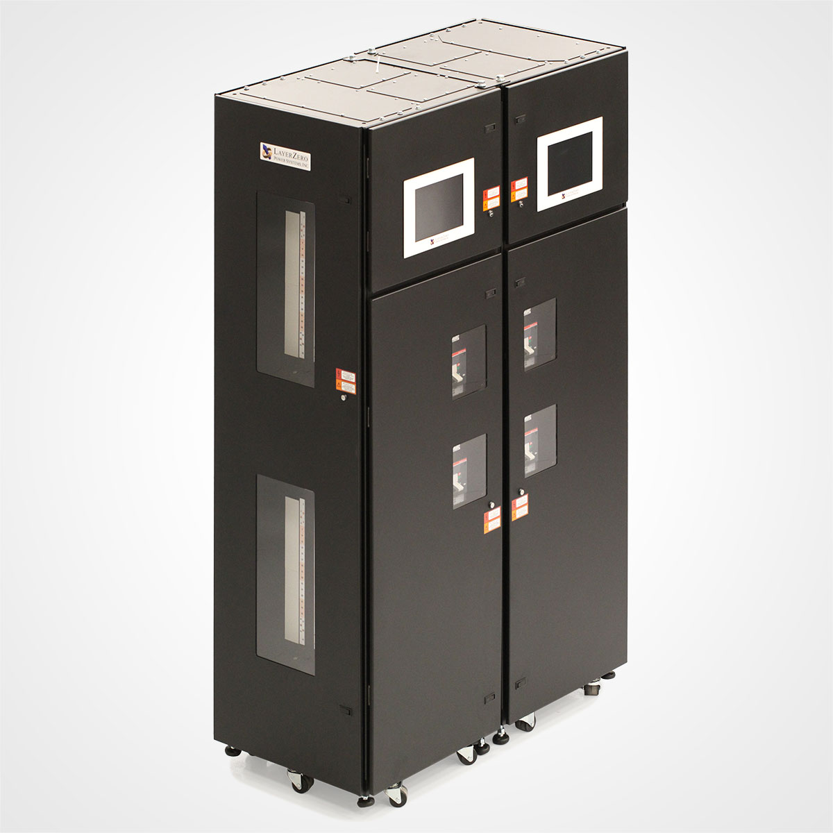 Two LayerZero Series 70: eRPP-FS Cabinets Side-By-Side.