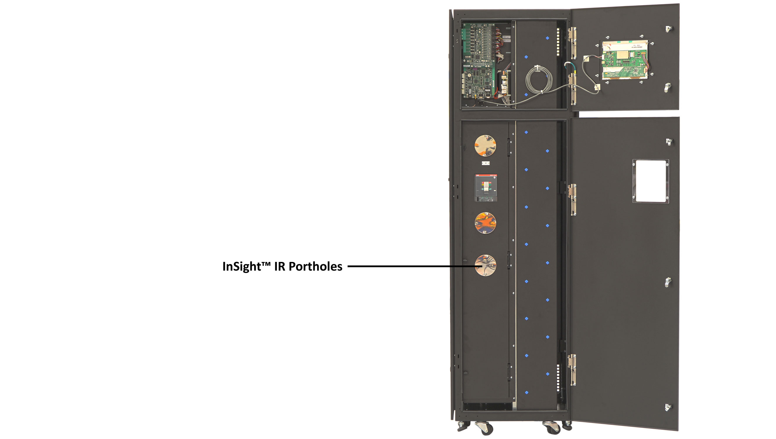 eRPP-FS Mechanical Overview, Front - Outer Door Open