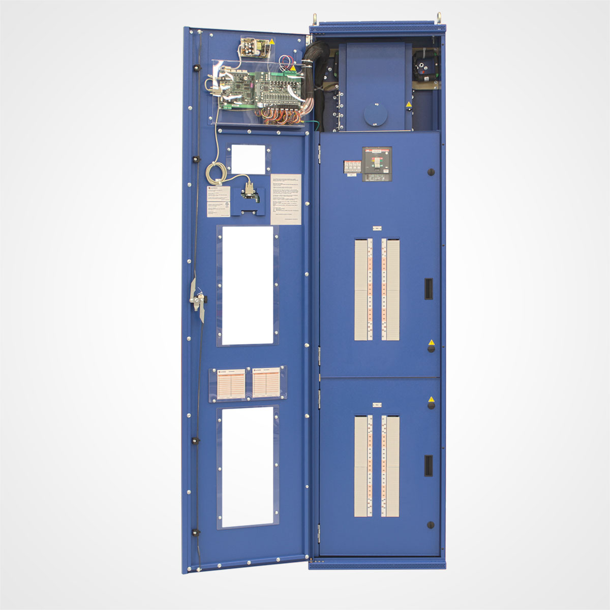 Two LayerZero Series 70: eRPP-FS Outer Doors Open.