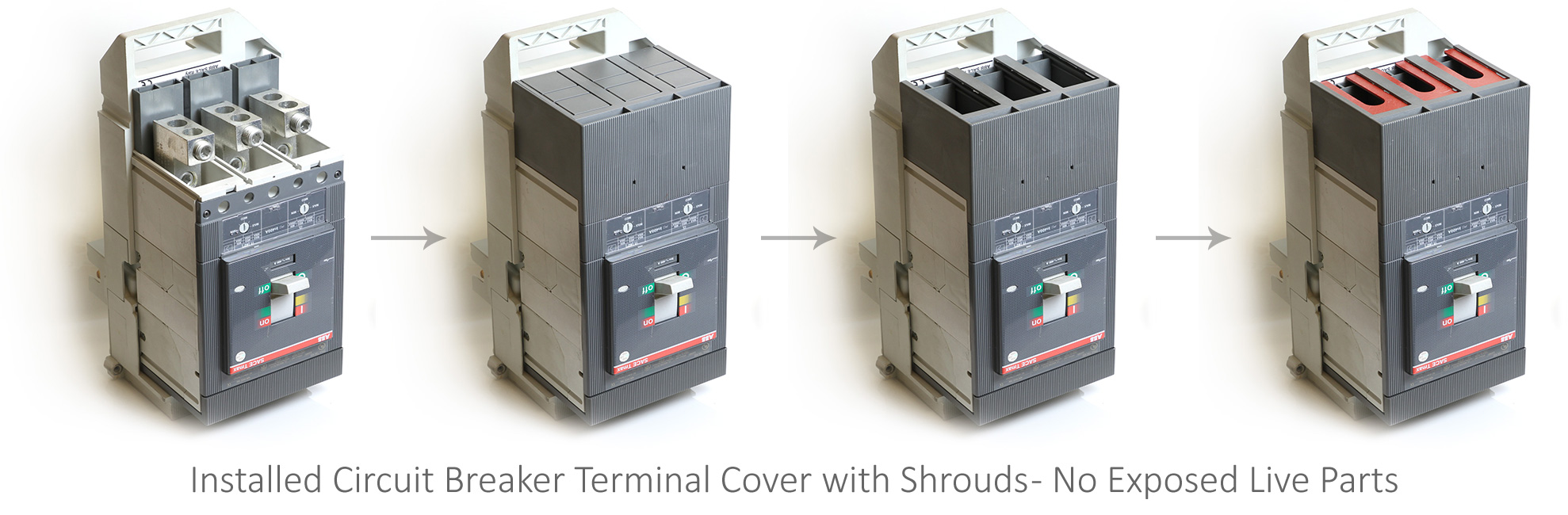 Terminal-Cover Installation Circuit Breaker